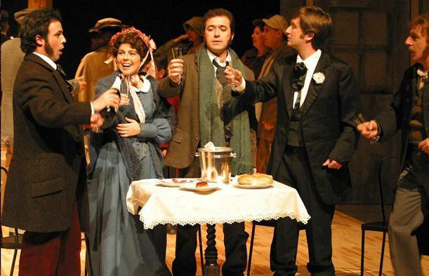 La Bohème es representanada en el Principal por Ópera 2011