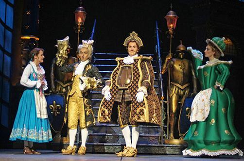 La Bella y la Bestia se representará en Zaragoza en octubre