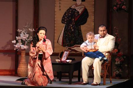 Madame Butterfly se representa en el Teatro Principal de Zaragoza