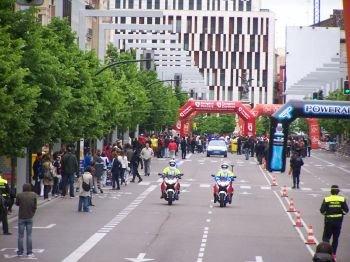 Carrerar importantes en la Avenida Principal de Zaragoza