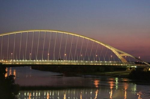 una de las construcciones más importantes ejecutadas para la feria internacional expo 2008