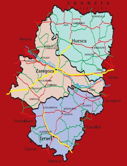 Zaragoza como parte de la historia de Aragón