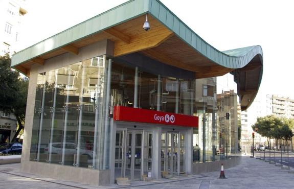 Estación de Goya Zaragoza