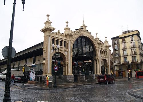 comer rico y barato en el mercado central de Zaragoza