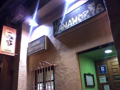 comida vegetariana en Zaragoza