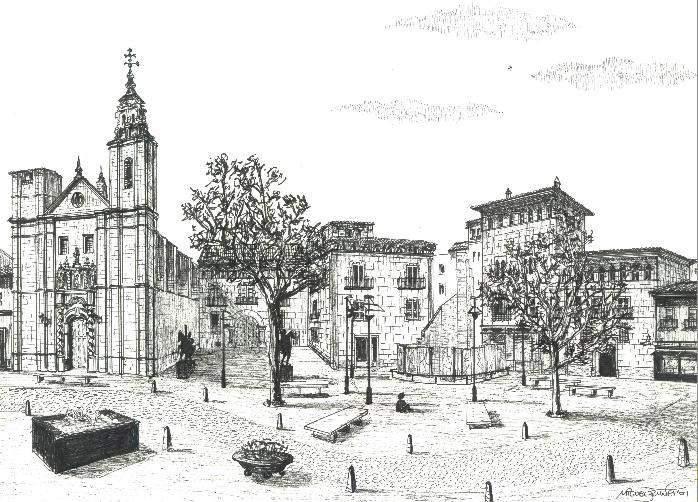 el entorno maravilloso que rodea a la Plaza de San Felipe en Zaragoza