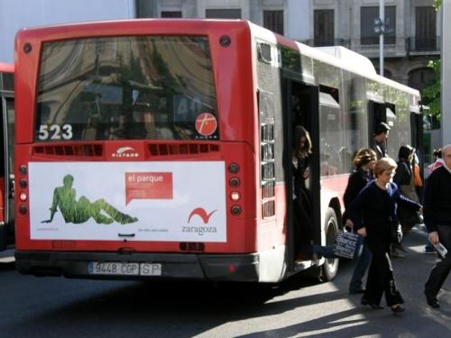 Zaragoza reordena las líneas de autobús urbano