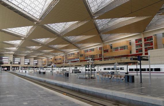 Estación de Zaragoza-Delicias