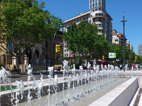 Fuente Plaza Paraíso
