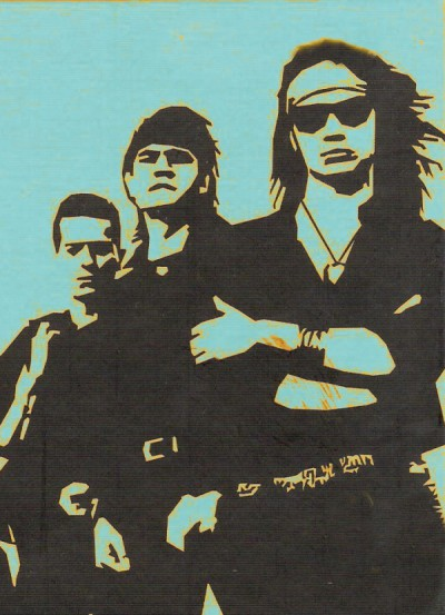 Graffiti Héroes del Silencio